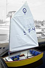 Bateau Otimist Club Racer Kit