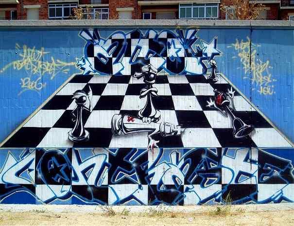 imágen de graffitis