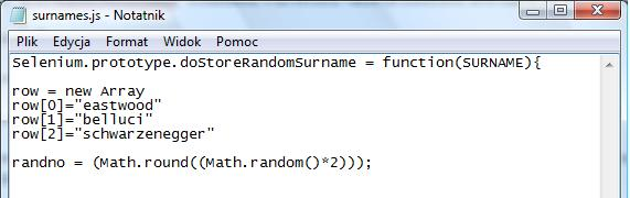 Randomly assign numbers to names