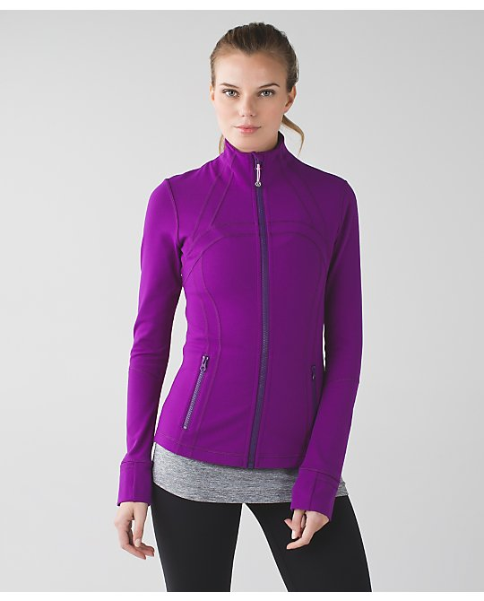 lululemon tender-violet-define-jacket
