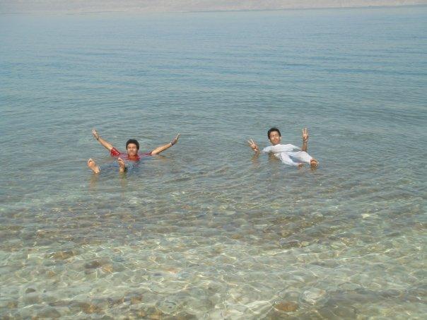 Believe it or not, memang takkan tenggelam, laut mati, jordan