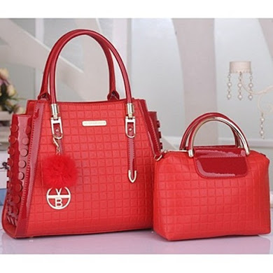 VICTORIA BECKHAM DESIGNER BAG - RED