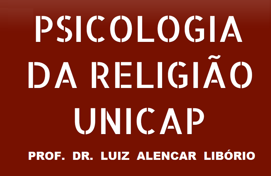 PSICOLOGIA DA RELIGIÃO UNICAP