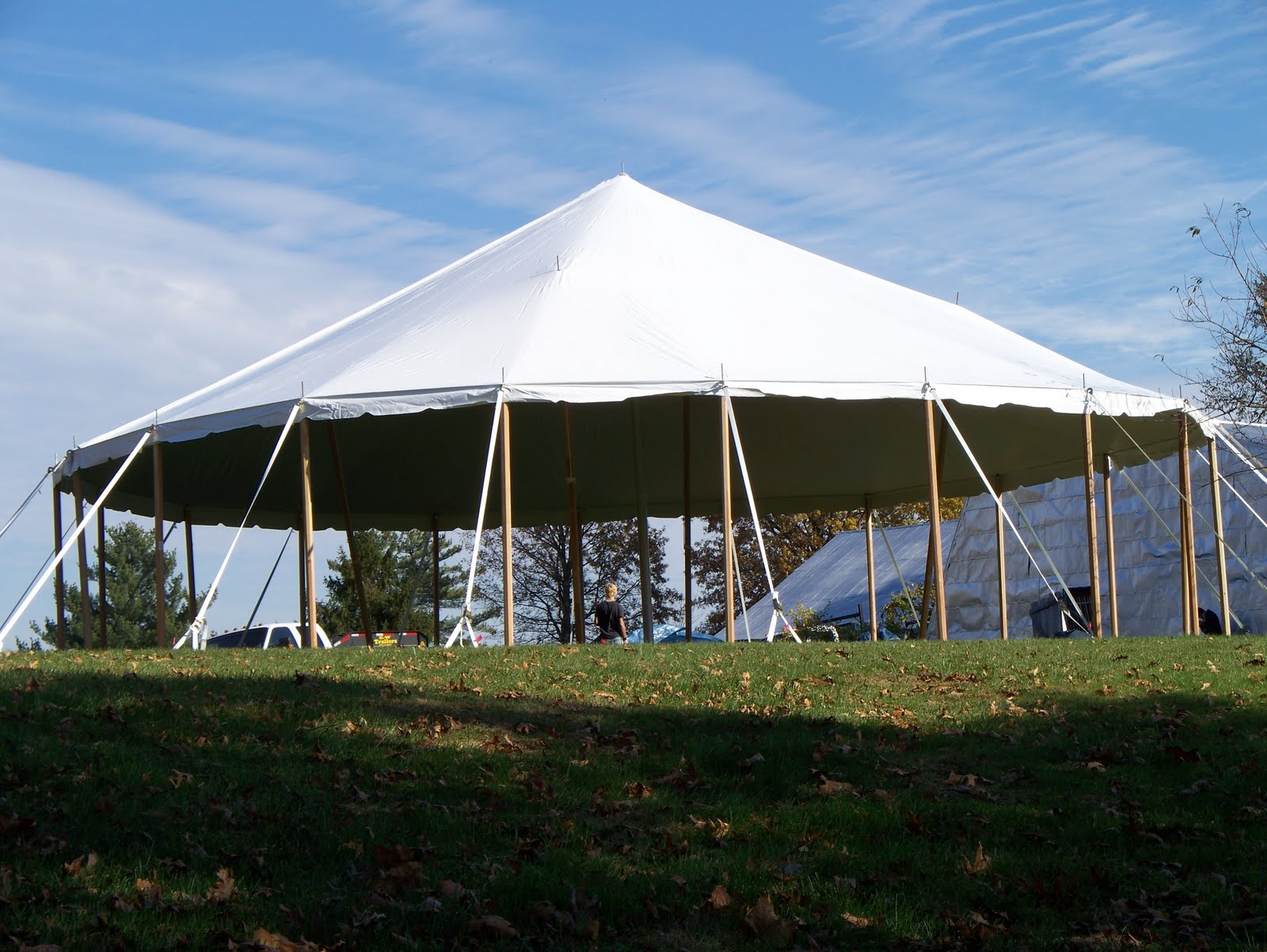 Challenge Customer needed a round end tent to fit over a Horse Training Ring for winter training of her horses. Ring she is going to build is 50ft and ... & Custom Round End Tents from Armbruster for Horses | Armbruster ...