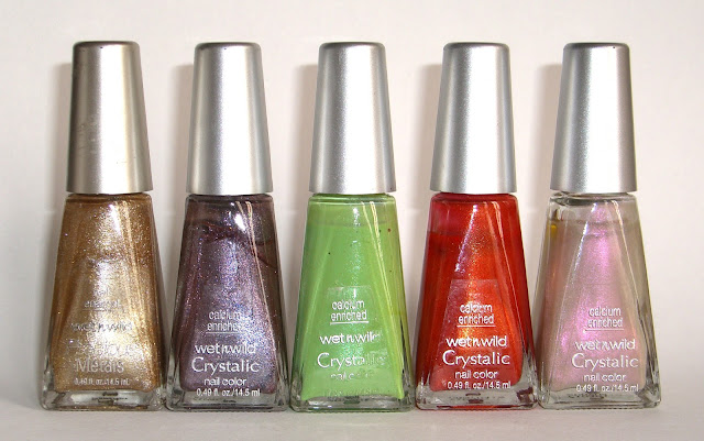 Wet n Wild - 14K, Mystical Metallic, Taotally Rad, Mango Madness, Heavenly
