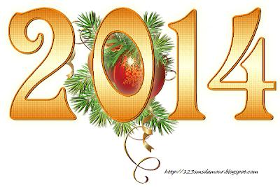 Exemple message et sms bonne année 2014