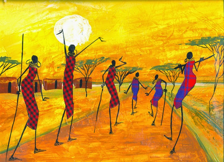 African art online abstract paintings for sale for Modern abstract paintings for sale