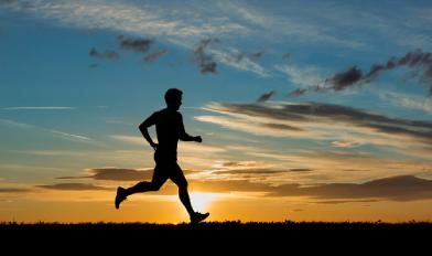 How to Prevent Cancer Naturally - man run sunset running