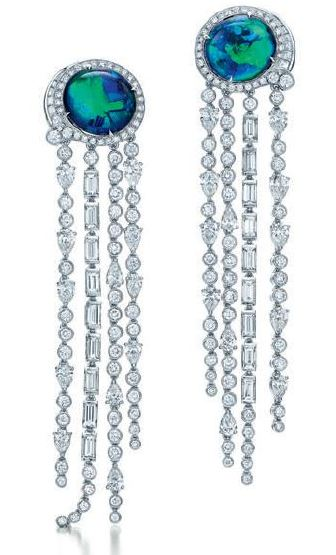 tiffany diamond earrings