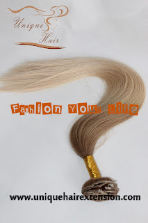 luxurious hair extensions ombre color