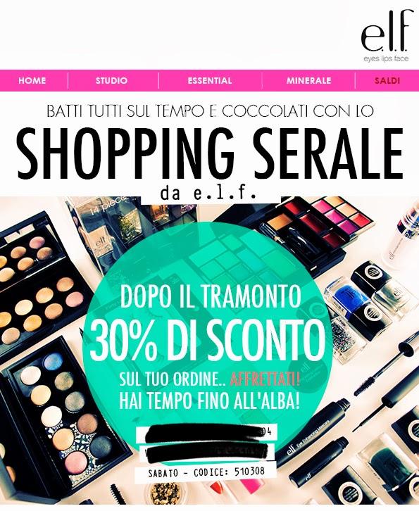 E.L.F. - Shopping serale -30%
