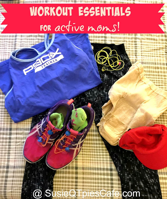 workout essentials for active moms
