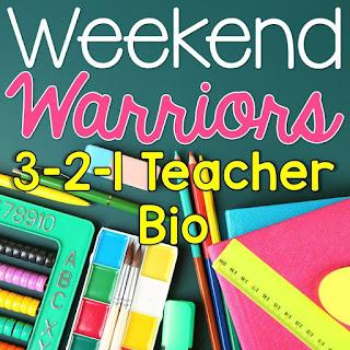http://brightconcepts4teachers.blogspot.com/2015/06/3-2-1-teacher-bio-weekend-warriors.html