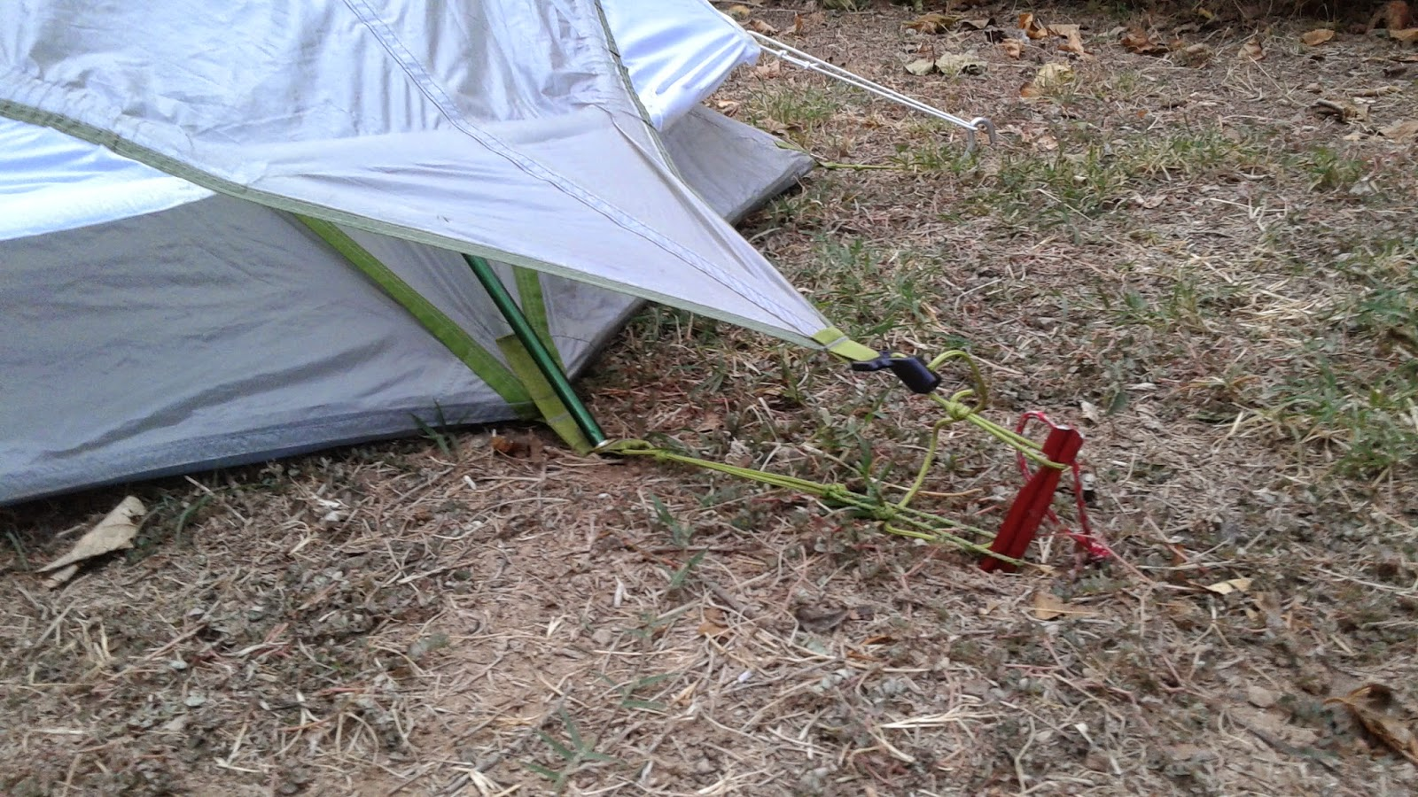 Rear stake. Extend tent guy line. & Packman - Raised by Raccoons: REI DASH 2 TENT REVIEW u0026 MODIFICATION