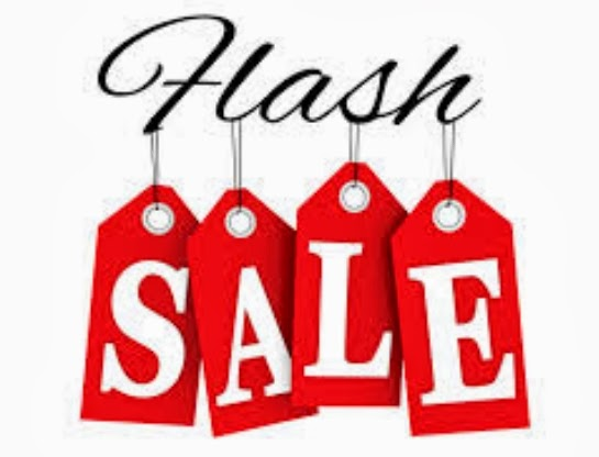 Blog...Deliberate: WEEKEND FLASH SALE!