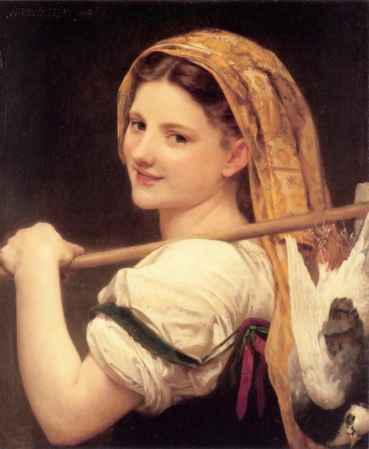 genre painting,Bouguereau,art history