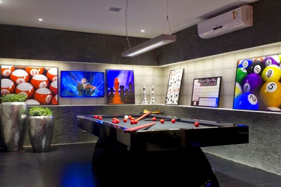 decoracao de sala jogos:Sala de Jogos – veja modelos e dicas para montar uma em sua casa