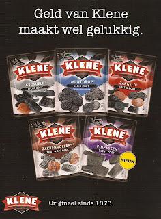 Geld van Klene maakt wel gelukkig.