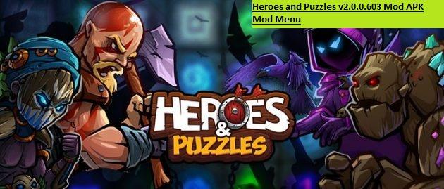 Heroes and Puzzles v2.0.0.603 Mod APK Mod Menu