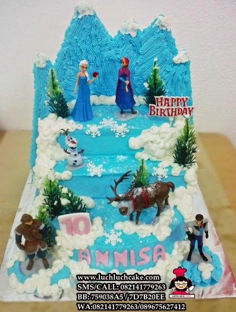 Kue Tart Princess Disney Frozen Daerah Surabaya - Sidoarjo