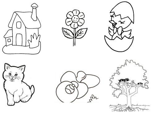 Dibujos de seres vivos y no vivos para colorear - Imagui