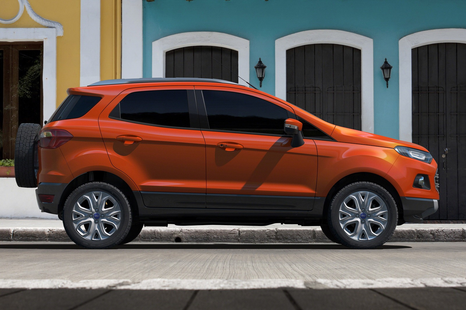 new ford ecosport india video auto car. Black Bedroom Furniture Sets. Home Design Ideas