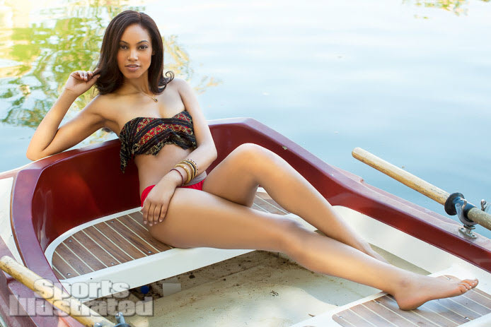 Ariel Meredith in See Through Dress and Bikini - Sports Illustrated