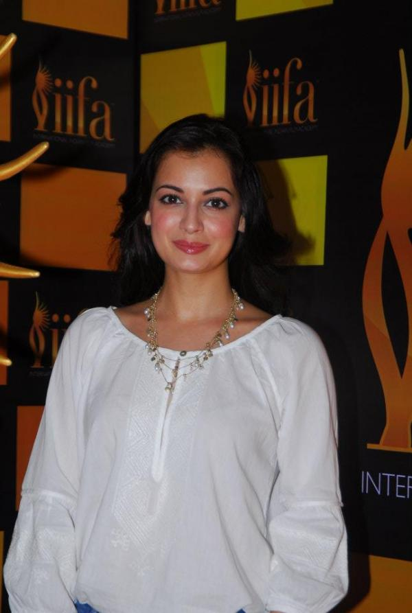 Dia Mirza at the IIFA 2012 Voting Weekend - Dia Mirza at the IIFA 2012 Voting Weekend