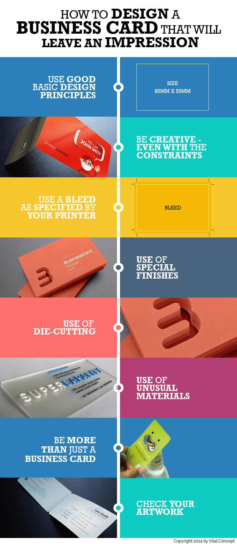 How to design a business card that will leave an impression infographic how to design a business card that will leave an impression magicingreecefo Image collections