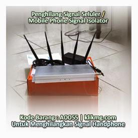 Penghilang Signal Seluler / Mobile Phone Signal Isolator - Kode Barang : A0055 | Untuk Menghilangkan Signal Handphone