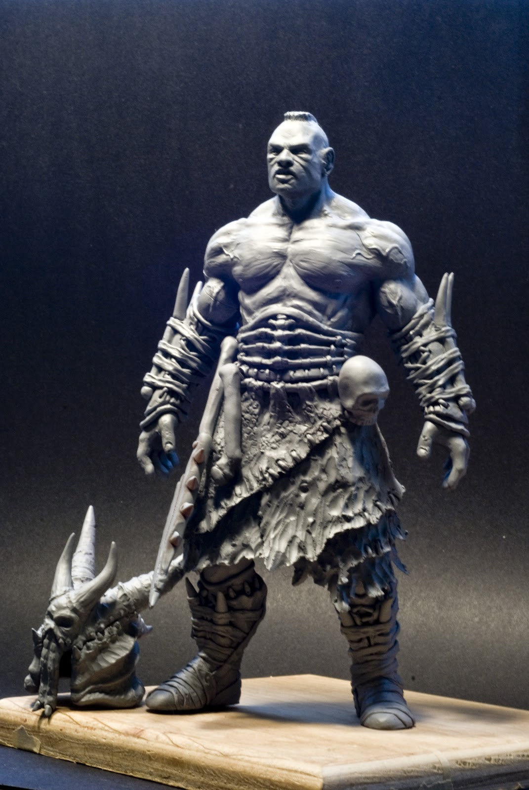 New to ConceptArt.org Sculpture forum
