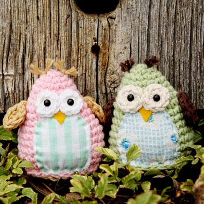 Simple and Sweet Owl Crochet Pattern