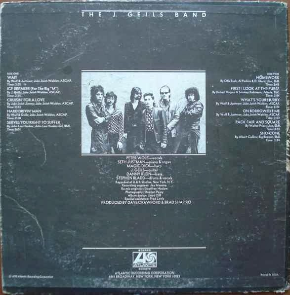 j geils band canu0027t do my homework anymore