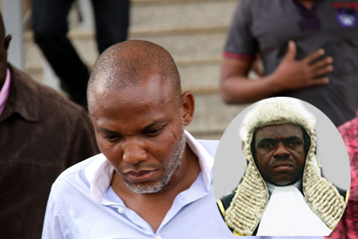 Biafra: January 29 Set Aside For Final Ruling On Nnamdi Kanu's Bail