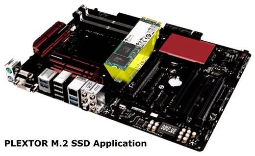Plextor M.2 SSDs
