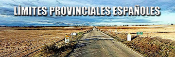 LÍMITES PROVINCIALES ESPAÑOLES