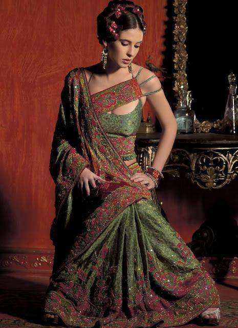 Latest designs of indian wedding sareesIndian Wedding sarees styles