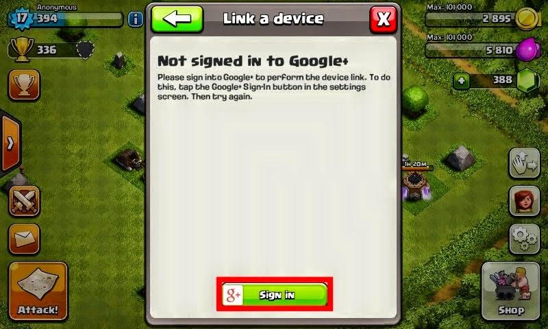 Cara Menggunakan Dua Akun Clash of Clans Pada Satu Perangkat Android