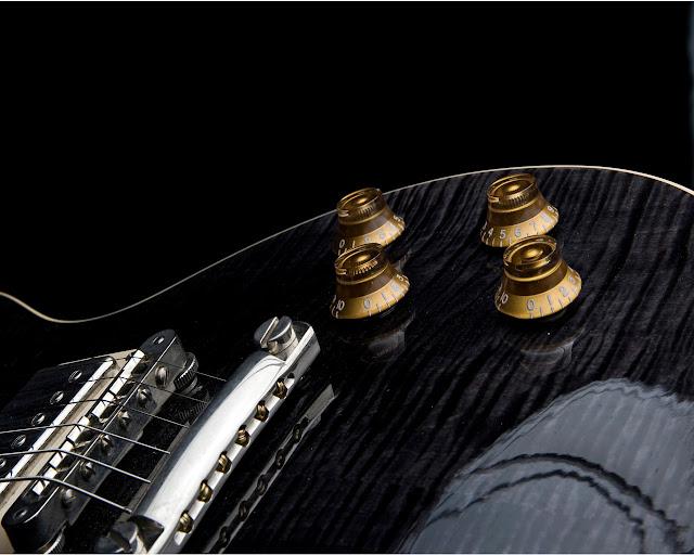 gibson guitar wallpaper. Guitar Wallpaper - Black