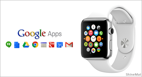 google apps for apple watch