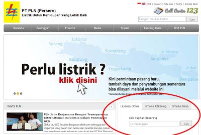 Cara Cek Tagihan Listrik PLN Via Online