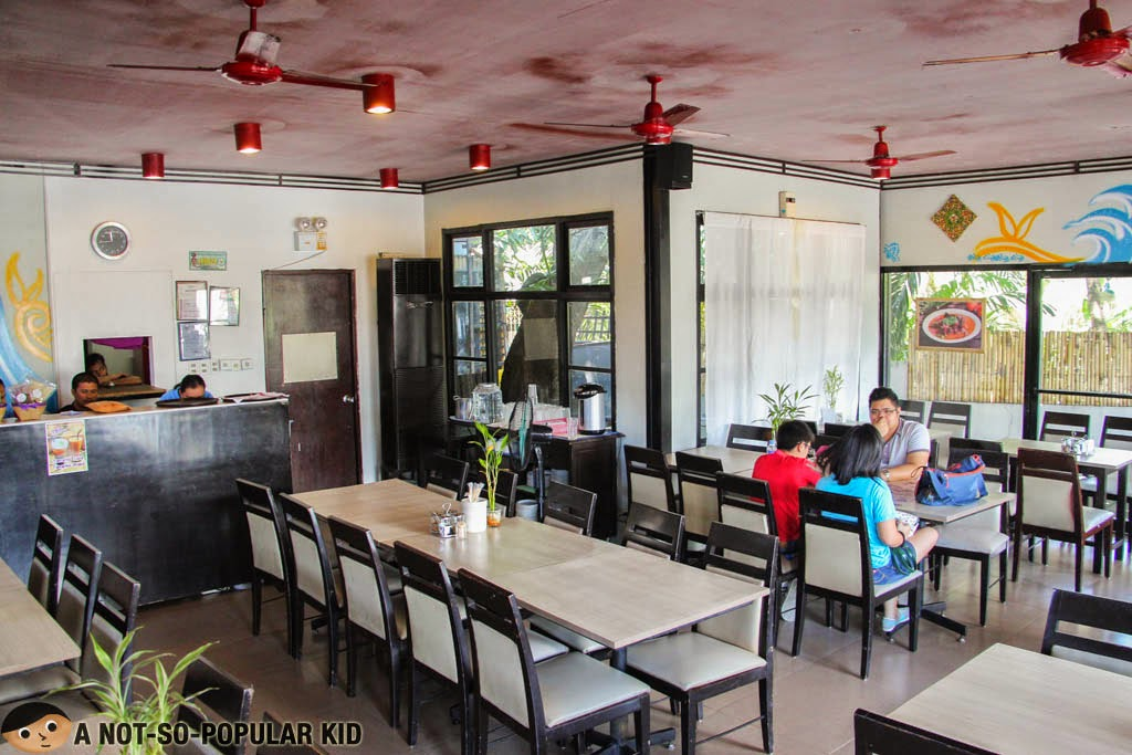 Interior of Songkran Restaurant in BF Homes Paranaque