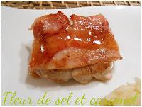 Médaillons de porc sauce orange et miel