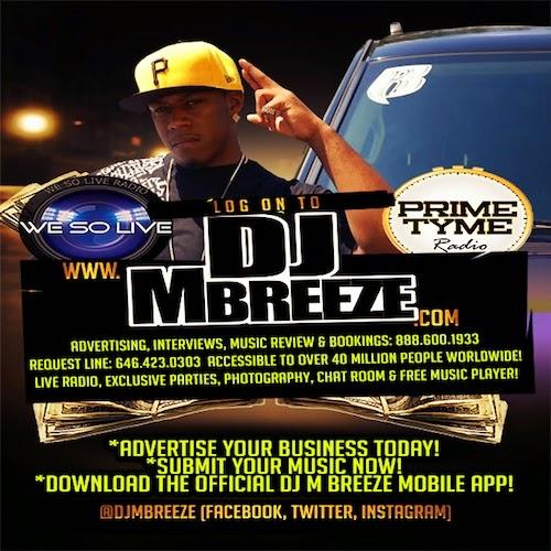 Advertise via DJ M Breeze