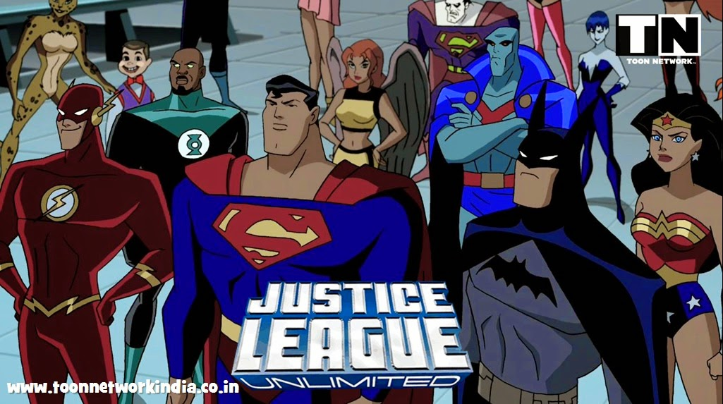 Justice League Unlimited HINDI Episodes [HD] - Toon Network India