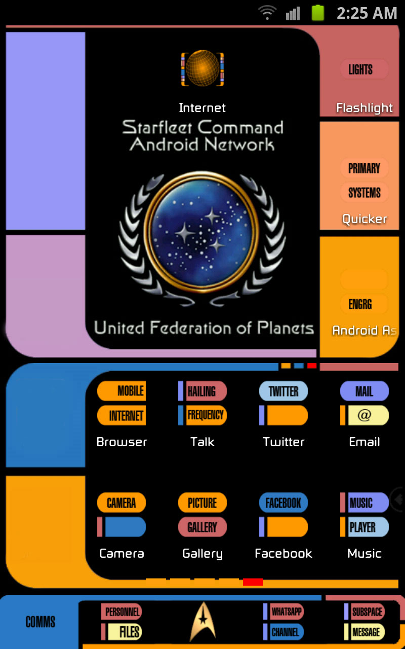 Star trek lcars theme for android mobile smart phones