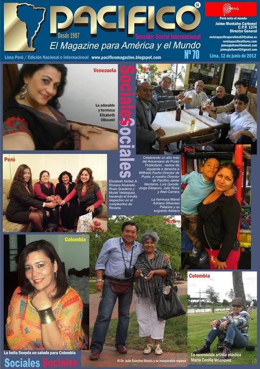 Revista Pacífico Nº 70 Social Internacional