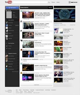Youtube New Homepage