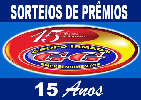 GRUPO IRMÃOS GG 15 ANOS DE SUCESSO