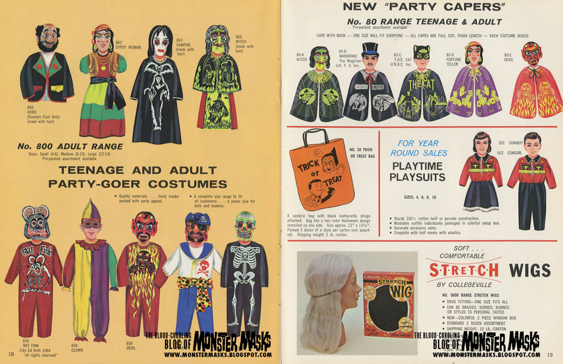 costumes catalog posted by yellow phantom at am